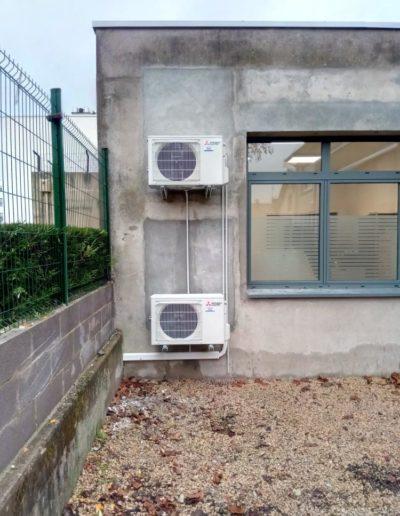 Climatisation cabinet médical