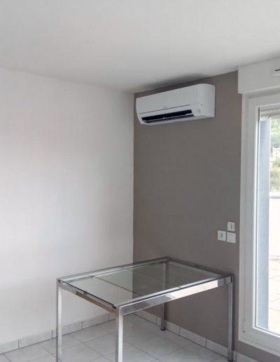 Installation climatisation Mitsubishi