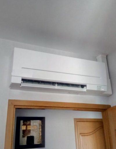Installation climatisation dans maison individuelle