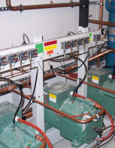 Installation matériel de réfrigération GMS