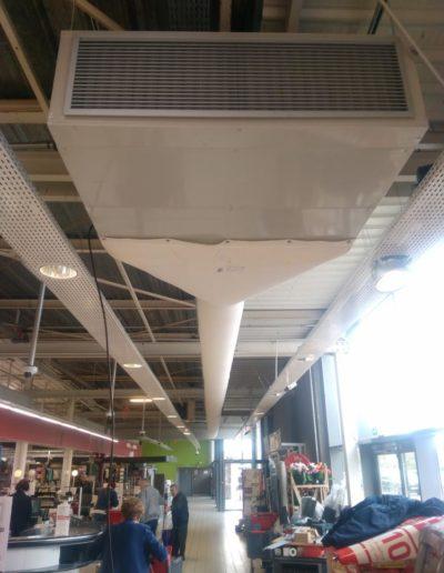 Installation matériel de réfrigération Intermarché