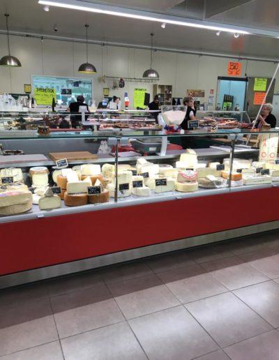 Installation matériel de réfrigération fromagerie